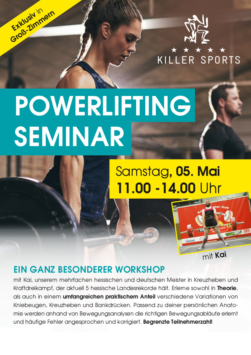 powerlifting seminar
