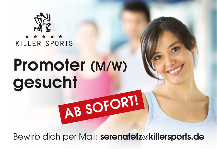 killer sports fitness jobs promoter