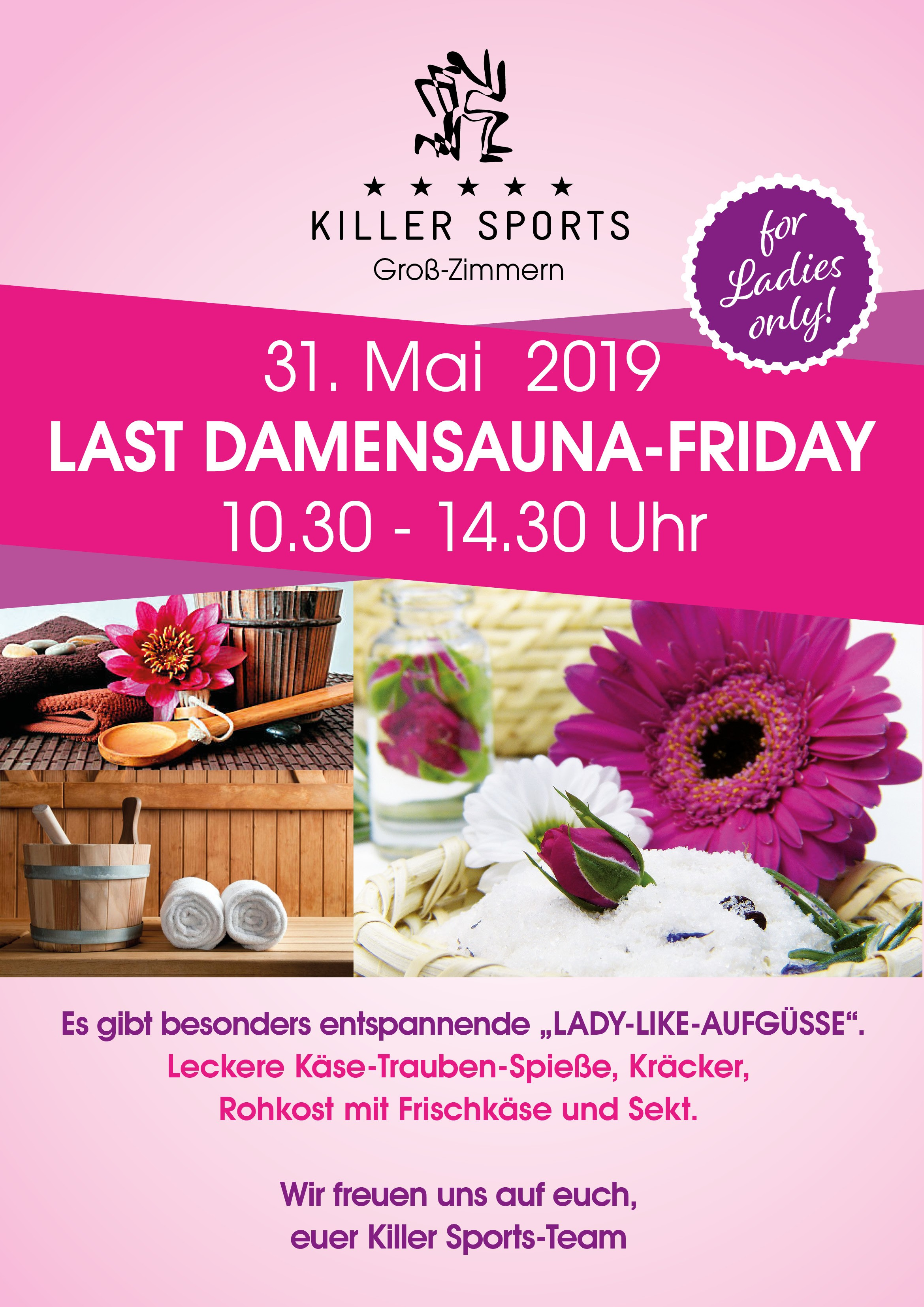 Damensauna im Killer Sports