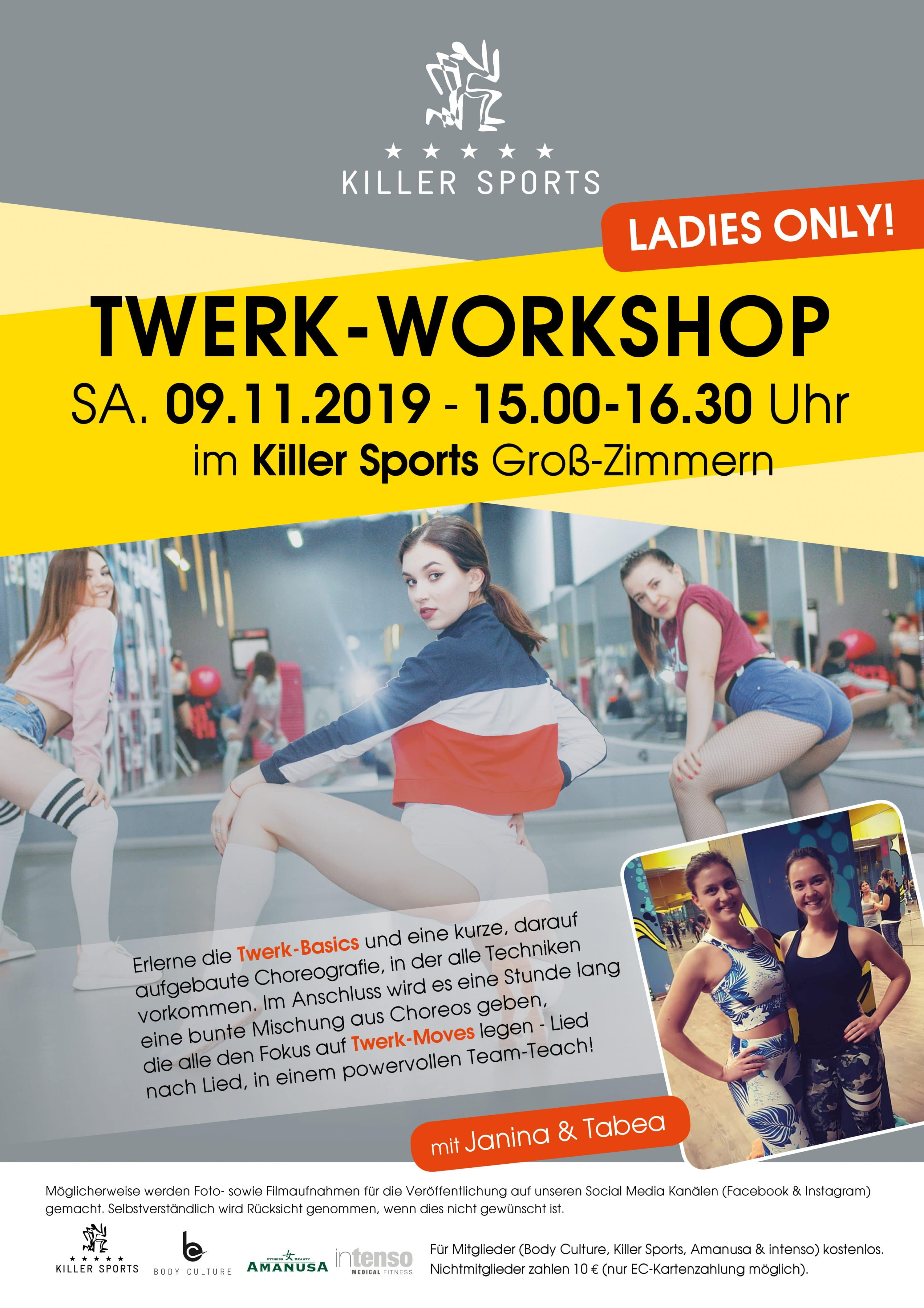 Twerk-Workshop im Killer Sports