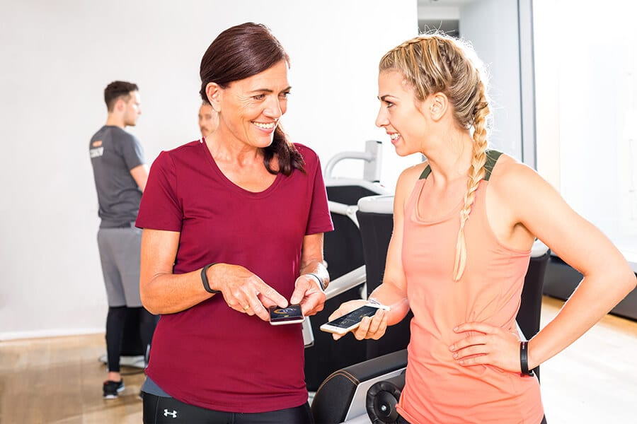 Egym Zirkel Killersports Training mit App